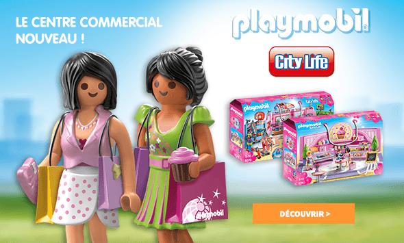 Playmobil - Le centre commercial