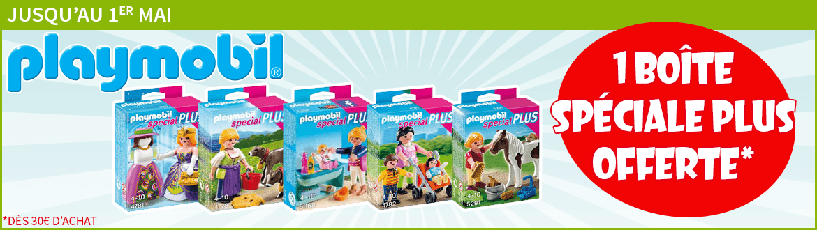 promotions Playmobil
