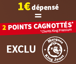 Marques exclusives King Jouet
