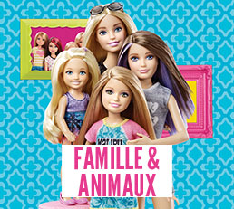 Barbie famille & animaux