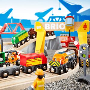 Transport de marchandises avec Brio