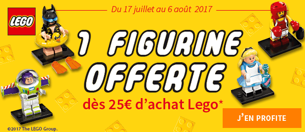 Offre LEGO - Figurine