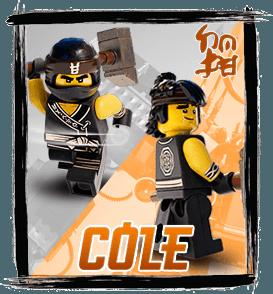 Ninjago : Cole