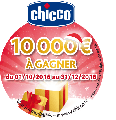 Chicco concours Noël