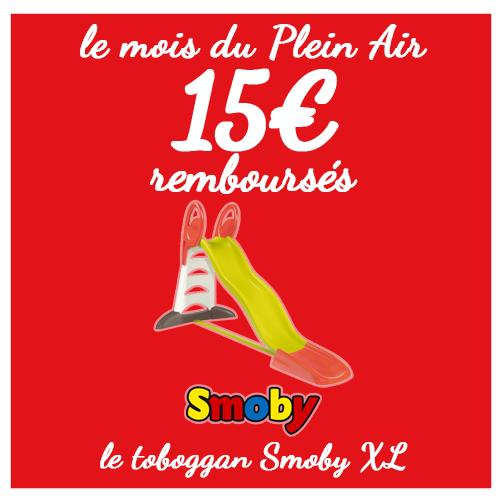 Smoby offres commerciales toboggan XL