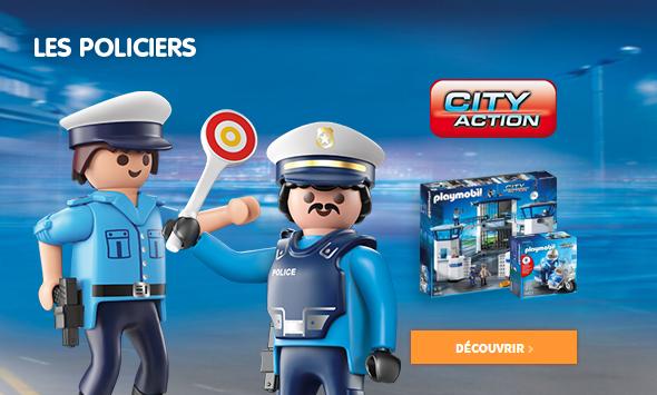 Playmobil - Policiers