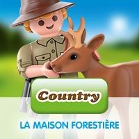 Playmobil Country La Maison Forestière