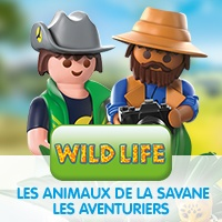 Playmobil Wild Life Les Aventuriers