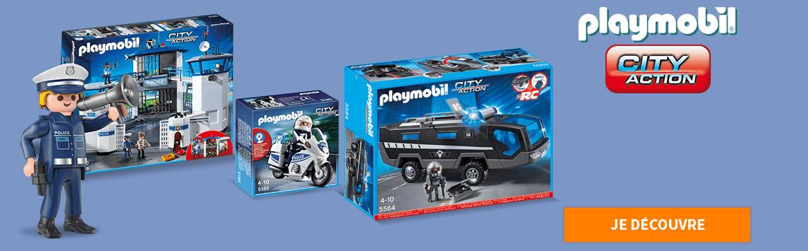 Playmobil Les policiers