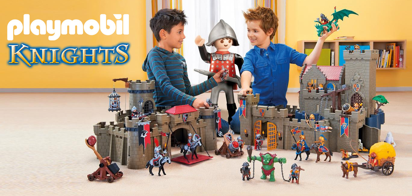 La sélection Playmobil Knights de King Jouet