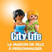 Playmobil City Life La Maison de Ville à Personnaliser