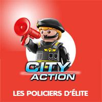 Playmobil City Action Les Policiers d'Élite