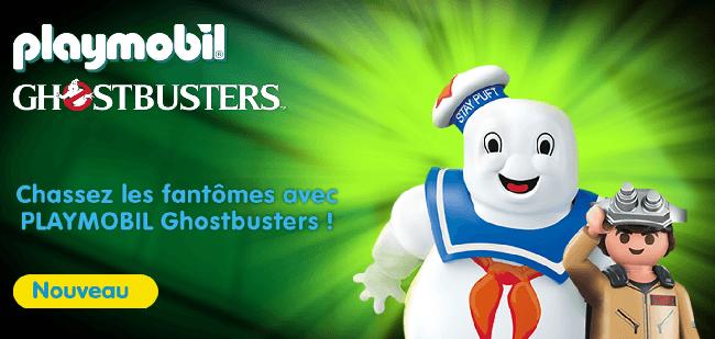 La sélection Playmobil Ghostbusters de King Jouet