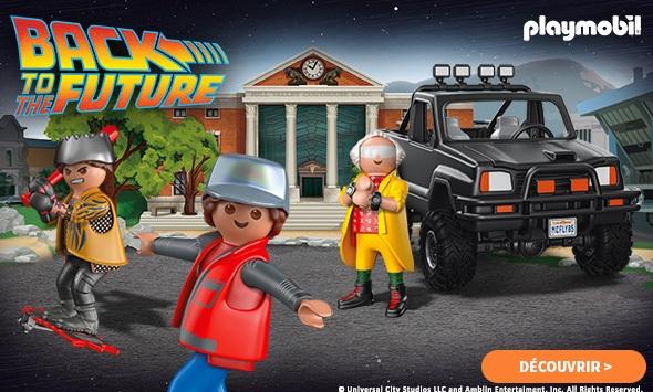 Playmobil Retour vers le Futur