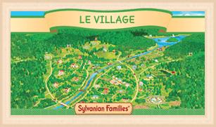 Gamme Sylvanian : le village