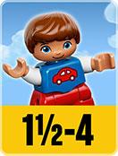 LEGO un an et demi à 4 ans