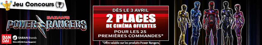 Concours Power Rangers